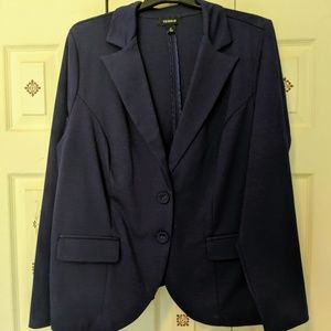 Torrid Rich Jewel Blue Blazer - never worn